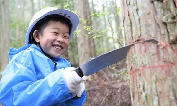 6歳になったら机を作ろう!木こり&机作り体験 in高知【2021年~22年】 イベント画像1