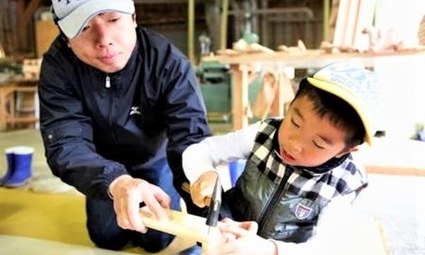 6歳になったら机を作ろう!木こり&机作り体験 in高知【2021年~22年】 イベント画像2