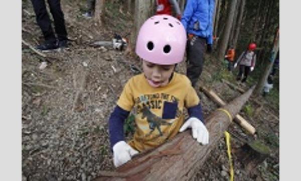 山で木を切り倒す!7歳からの「木こり&倒した木で工作体験」in飯能 イベント画像2