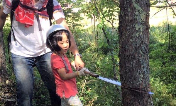 6歳になったら机を作ろう!木こり&机作り体験 in長野 イベント画像1