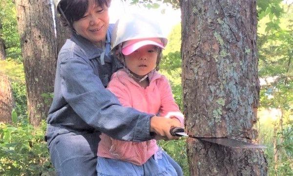 6歳になったら机を作ろう!木こり&机作り体験 in長野 イベント画像2