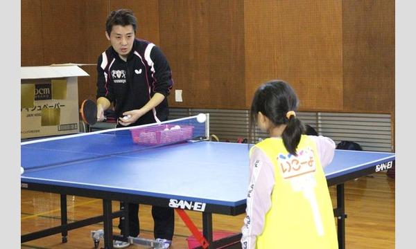 やってみたいを実現!原田コーチの親子卓球教室in東京(礼武道場) イベント画像3