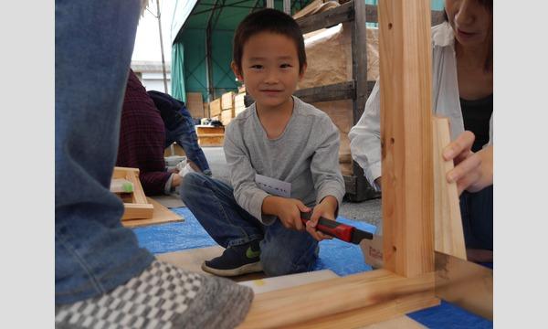 アクトインディ株式会社(いこーよ)の2019年「6歳になったら机を作ろう!」机作りin滋賀イベント