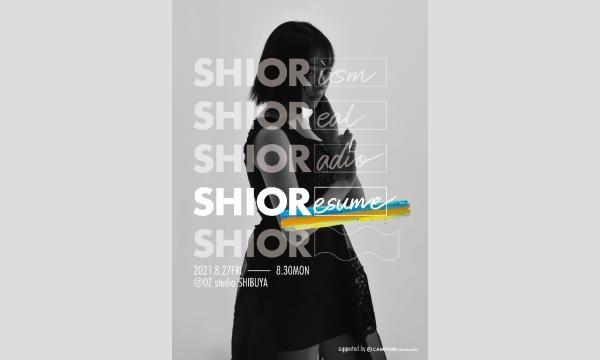 【抽選受付】佐藤詩織初個展「SHIOResume」一般販売