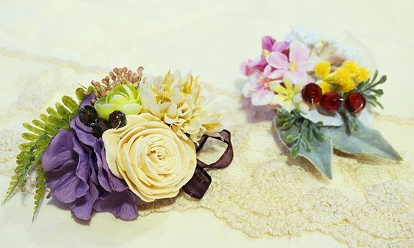 自分色のお花で作るフラワーアクセサリー講座 イベント画像1
