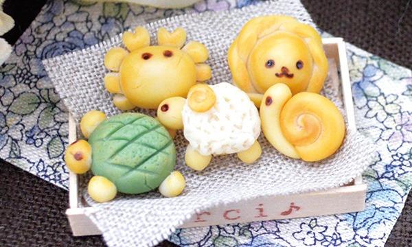 粘土クラフト・ミニチュア動物パン講座 in神奈川イベント