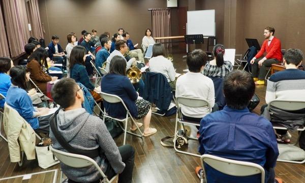 [札幌開催] 演奏の悩みを解決!バジル先生のアレクサンダー・テクニークセミナー イベント画像1