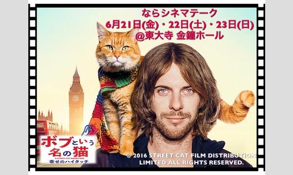 ならシネマテーク2019 6月上映作品「ボブという名の猫」 イベント画像1