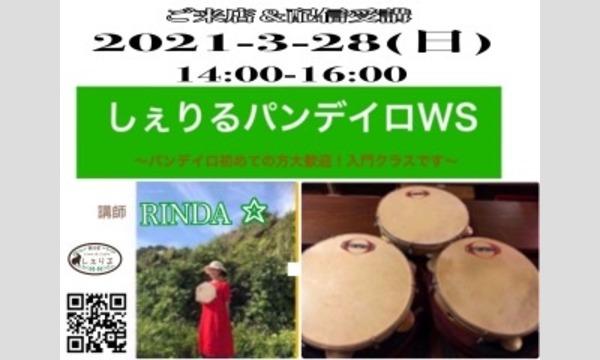 3/28(土)14:00しぇりるパンデイロワークショップ イベント画像1