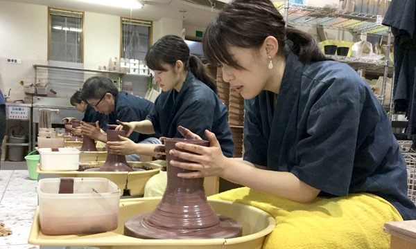 11/7 13:00【伊豆高原】2種類の粘土が選べる電動ろくろ体験 イベント画像1