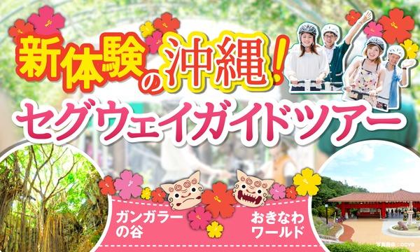 【2月28日分のご予約】新体験の50分!沖縄セグウェイガイドツアー!!/おきなわワールド