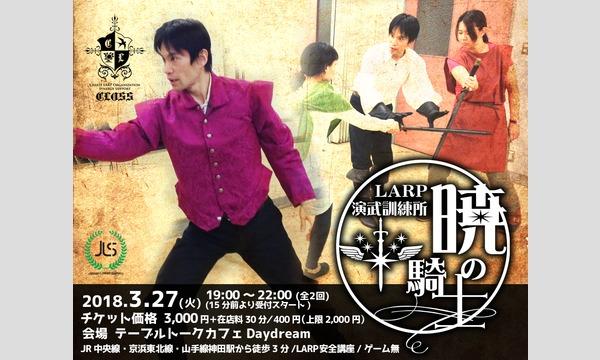 LARP演武訓練所 暁の騎士【赤銅の章】(モニター開催) イベント画像1