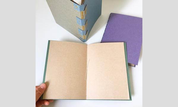 古本と手製本ヨンネ「綴じ方を学んでノートやzineを作ろう!糸綴じ手製本教室」 イベント画像2