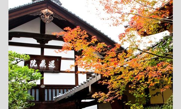妙心寺退蔵院  昼食付き特別拝観2 Day Tour2 11/30(木) イベント画像1