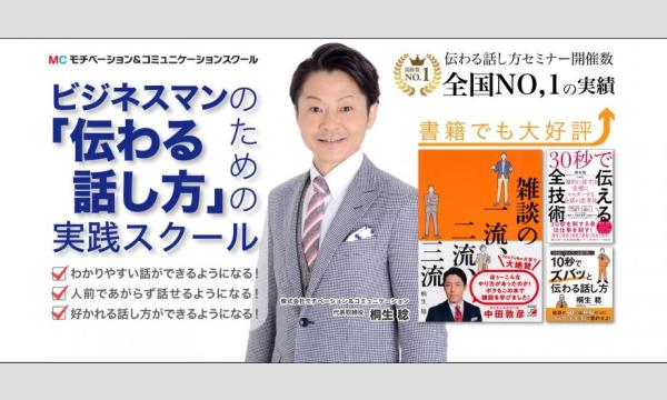 株式会社モチベーションアンドコミュニケーションの大阪:【あがり症を根絶する!!】100人の前で話してもまったく緊張しない「話し方トレーニング」実践セミナーイベント