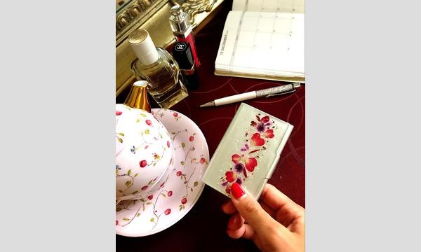 【7/4(水)15:00〜】レジュフラワー*本物のお花の名刺入れ@横浜ベイクォーター イベント画像2