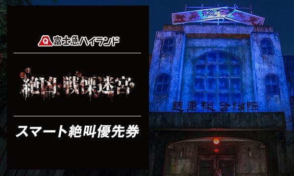 10/22(日)E『絶凶・戦慄迷宮』スマート絶叫優先券_当日限り有効
