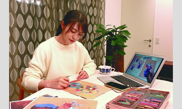 【3・4・5月期】はじめてのパステル画~名画を模写しよう~ 【アトリエ・エビス】 イベント画像2