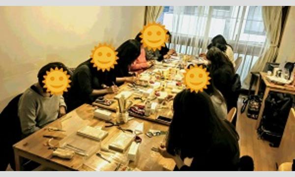 江戸つまみ細工 銀座教室 『ビオラのブローチ』 1Day Lesson イベント画像3