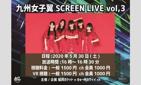 2020年5月30日 九州女子翼 SCREEN LIVE vol,3 VR イベント画像1