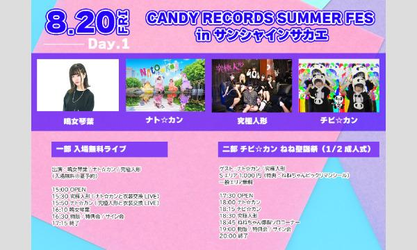 CANDY RECORDS SUMMER FES in サンシャインサカエ 二部 チビ☆カン ねね聖誕祭 イベント画像1