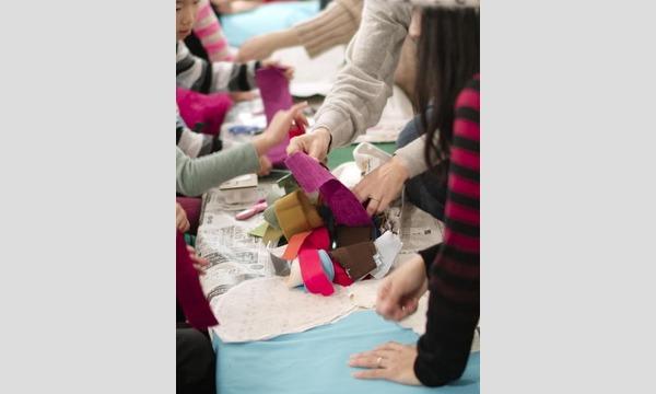 """4/13(土)ずっと大切にしたいアート作品の完成『ARTな """"こいのぼり"""" をつくろう!』/KAORI NONAKA イベント画像2"""