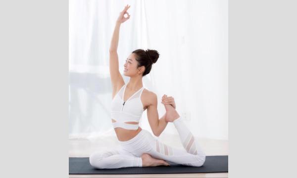 CROSS FM Yoga&Bodymake feel the univease 松本莉緒さんヨガレッスン午前・午後の部 イベント画像3