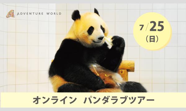 アドベンチャーワールド オンラインパンダラブツアー【7/25(日)】 イベント画像1