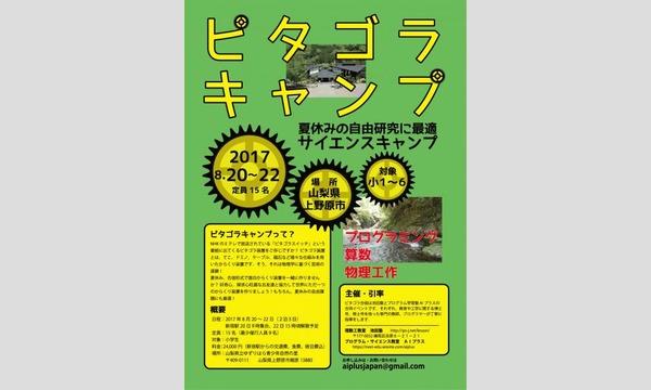 ピタゴラキャンプ in山梨イベント