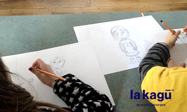 """主催:新潮社のアイルランドのアニメーションスタジオ """"カートゥーン・サルーン"""" のプロアニメーターによるワークショップイベント"""