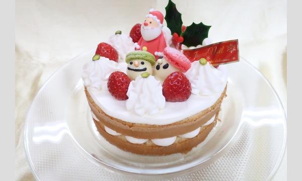 12/22(日)親子でクリスマスケーキのデコレーションをしよう@二葉製菓学校 イベント画像1