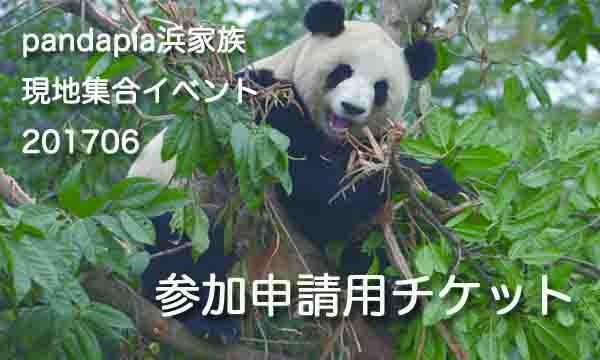 """PANDAPIA 浜家族""""見届け""""現地集合イベント 【エントリー用チケット】"""